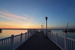 Simplicity (seanbeebe_photo) Tags: sunset bay pier newjersey nj jerseyshore margate