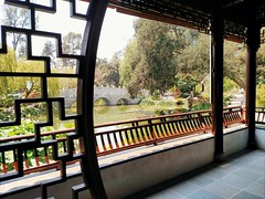Chinese Garden (Thad Zajdowicz) Tags: zajdowicz sanmarino california 366 365 availablelight daylight cellphone motorola droid turbo android mobile smartphone cameraphone huntingtonbotanicgardens chinesegarden nature water composition light shadow building architecture bridge