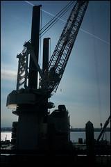 Vidar crane (steeedm) Tags: liverpool mersey rivermersey pierhead vidar voleauvent djn jackupvessel ship shipping jandenul