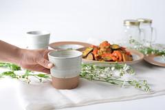 Tea-Bowl-white-017 (cdkceramic) Tags: white cup ceramic tea bowl   cdkceramic