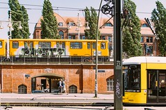 Max-Koch-Passage (DOKTOR WAUMIAU) Tags: street berlin 35mm nikon streetphotography tram ubahn lightroom bvg ishootraw d7200 vscofilm weilwirdichlieben