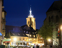 Magic Lights of Colmar (bygeorge) Tags: france church night lights colmar lightsofmagic