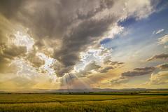 Colorado Big Sky Beams of Sunshine (Striking Photography by Bo Insogna) Tags: sun sunlight nature sunshine landscapes colorado seasons cloudy sunny rockymountains rays storms beams thunderstorms jamesboinsogna