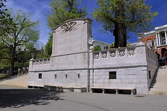54th Regiment Monument (oxfordblues84) Tags: city building monument boston architecture memorial massachusetts beaconhill bostonmassachusetts massachusettsstatehouse 54thregimentmonument
