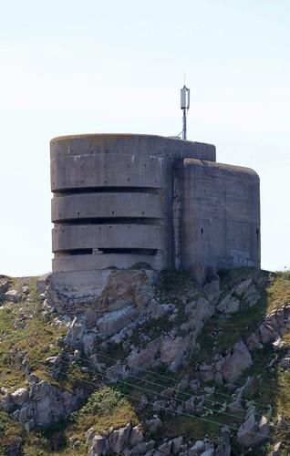German observation post