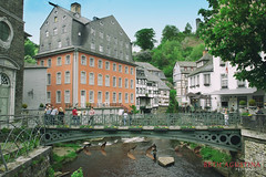 2296 (Bethie Inthesky) Tags: city river germany resort oldtown monschau halftimberedhouse