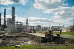 Industry perspective-2 (algimantas_tirlikas) Tags: auto building work pipe montage pipeline cisterns rafinery