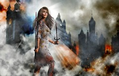 Reclaim the City (Bel's World) Tags: daz 3dmodeling dystopia undead sword antihero