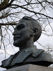 Bust of Major John MacBride, Westport, Co. Mayo (lurcherlad) Tags: statue soldier military bust hero independence nationalist commemorative 1916 easterrising irb irishvolunteers irishrepublicanbrotherhood