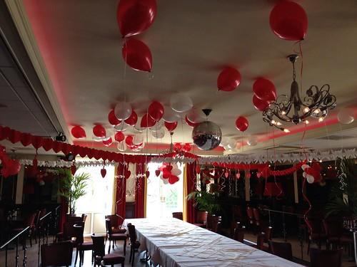 Heliumballonnen Ballonnenplafond Citta Romana Hellevoetsluis