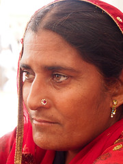 () Tags: woman india goldentemple