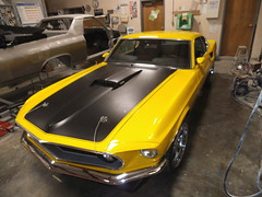 "1969  Ford Mustang Mach 1 • <a style=""font-size:0.8em;"" href=""http://www.flickr.com/photos/85572005@N00/8751678378/"" target=""_blank"">View on Flickr</a>"