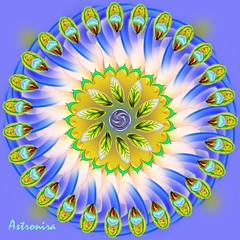 Mandala (Astronira) Tags: art digital abstraction      astronira