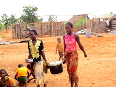 here comes the food (theancientpath) Tags: poverty school village hunger madagascar cyclone nutrition malnourishment mikea