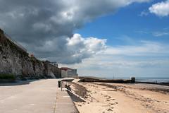 storm bringer (OR_U) Tags: uk blue sea storm beach sunshine clouds landscape oru drama margate 2013