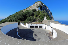 Spur Battery, Gibraltar (Mosh70) Tags: gun artillery gibraltar spurbattery 92inchcoastaldefencegunemplacement