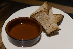 Portuguese olive oil and crusty whole wheat bread (Charles Haynes) Tags: singapore oliveoil burntends