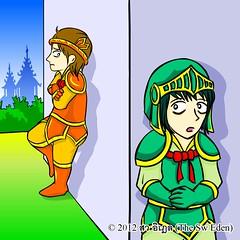 ทักทายกับ 2 อัศวิน (Tuskty & 2 Knights) p.10