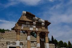 Resti del Capitolium [Explored 2013.06.18] (drugodragodiego) Tags: italy architecture buildings cities brescia monumenti lombardia streetview urbanlandscape x10 explored fujifilmx10