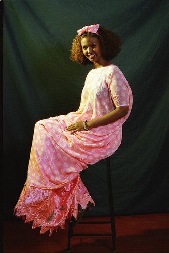 Beautiful Somali Lady Philadelphia Studio Portrait African