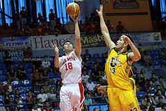 FilOil 2013 Battle for 3rd: San Beda Red Lions vs. UST Growling Tigers (inboundpass) Tags: sanbedaredlions filoil filoilflyingv ustgrowlingtigers filoilflyingvpreseason