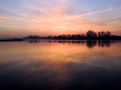 Sunset (sabine1955) Tags: sunset day cloudy elbe geesthacht geea sabine1955