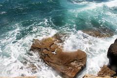 La Caleta (Cdiz) (Sara Garca.) Tags: blue sea summer sky espaa love beach beautiful canon photography eos spain holidays paradise place happiness andalucia follow verano cadiz lovely cala caleta canonbeaches