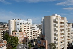 Views over Nice, South of France (mchphoto) Tags: france birds buildings nice hills views southoffrance tops eyeview