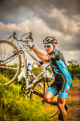 Up Up Up (Riding Focus) Tags: park grass bike bicycle race cycling jj memorial australia cx hills push athlete cyclocross terrey abcopen:project=top3