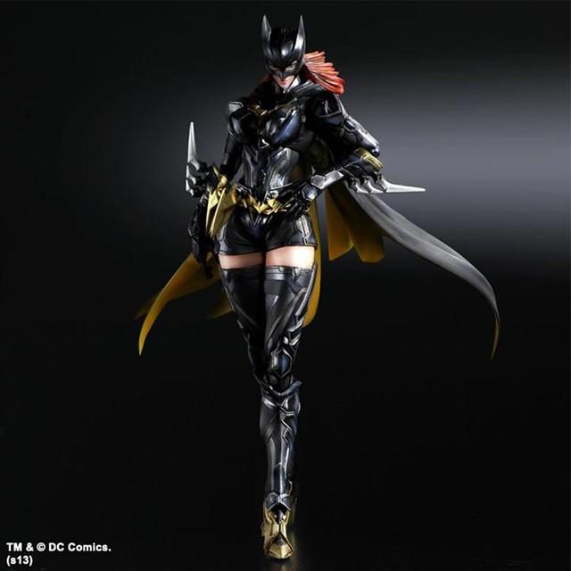 Play arts 改 變體版「蝙蝠俠」、「閃電俠」與「蝙蝠女」三款新作即將公開!