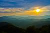 Wesser Sunset 4 (Bradley Nash Burgess) Tags: sunset sky sun clouds evening nc nikon dusk hiking northcarolina hike trail nantahala westernnc westernnorthcarolina nantahalagorge appalachaintrail wesser at wesserbald d7000 nikond7000 wesserfiretower