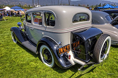 Cal-Rods Run with a Winner (dmentd) Tags: chevrolet sedan chevy 1935