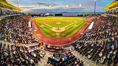 The Staten Island Yankees (Tony Shi Photos) Tags: county nyc newyorkcity panorama ny game field sport island harbor baseball stadium pano si crowd panoramic richmond diamond statenisland venue stgeorge yankees ballpark staten newyorkyankees mlb minorleaguebaseball rcb newyorkharbor   2013 richmondcountybankballpark     americanbaseball stgeorgeferryterminal babybombers             75richmondterrace rcbballpark