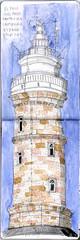 El-Faro-Santander (artecollage) Tags: faro santander urbansketchers