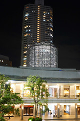 DSC08535.jpg (ntstnori) Tags: building lens tokyo takumar 28mm  nightview koto f35 13528 toyosu    supermulticoated  asahioptco