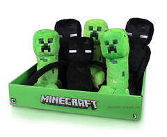 Jazwares Minecraft 7 inch Plush (IdleHandsBlog) Tags: videogames collectibles jazwares minecraft