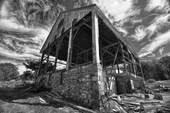 Saved Barn in B & W (Forsaken Fotos) Tags: blackwhitephotos