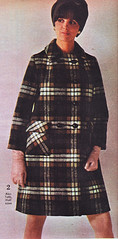 Spiegel 69 fw 2 plaid wool (jsbuttons) Tags: winter 1969 fashion vintage clothing 60s buttons spiegel coat womens button catalog plaid sixties fashions vintageclothing doublebreasted buttonfront