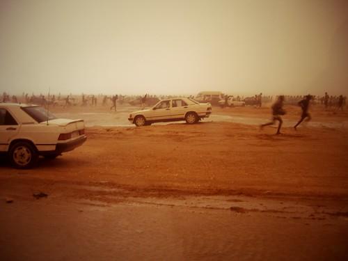 Tempête de sable, Nouakchott, Mauritanie