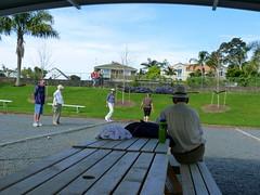 Petanque on Sunday (Sandy Austin) Tags: newzealand auckland northisland petanque hernebay sandyaustin hernebaypetanqueclub panasoniclumixdmcfz40