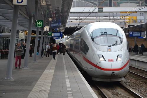 DB ICE 3 4611, Utrecht Centraal