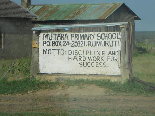 School near Mutara Ranch