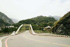 On the way down the mountain (Silvr) Tags: road bridge mountain taiwan hehuanshan
