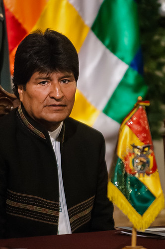 Presidente Evo Morales Ayma