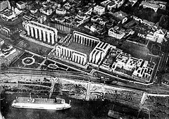 02_Luxor - Aerial View of Luxor Temple 1914 (usbpanasonic) Tags: egypt nile nil luxor egypte  egyptians egyptiens luxour