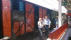 Vagón 1 (jrubios8) Tags: de henares vapor estación locomotora alcalá guadix chamartín {vision}:{outdoor}=0906