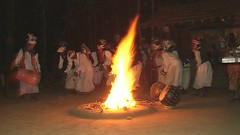 Baiga tribal dances (jpotto) Tags: india dancing tribes kanha tribaldancing baiga