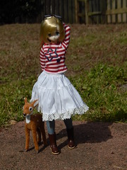 Outside With A Friend (Forest_Daughter) Tags: doll pure raili neemo azone majokko