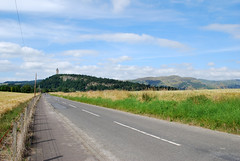 Photo of National Wallace Monument from Ladysneuk Road