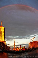 After the Storm (A Great Capture) Tags: road city sunset toronto ontario canada storm building tower fall monument rain clouds cn liberty rainbow october downtown tour village cntower sundown cloudy dusk landmark icon structure end to after iconic 2009 日落 touristattraction attraction غروب wesat ald آفتاب worldfederationofgreattowers tourcn karasshower ash2276 ashleyduffus सूर्यास्त